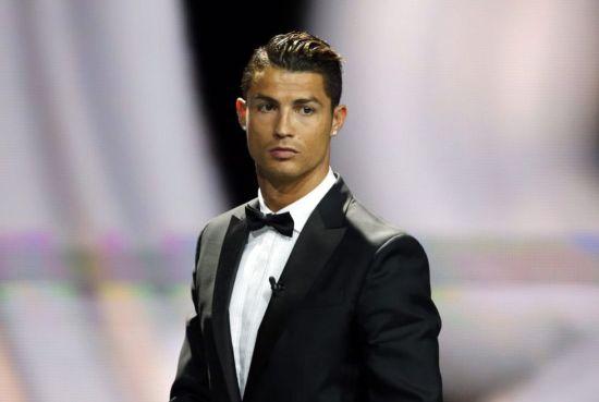 C罗前不久赢得欧洲最佳球员