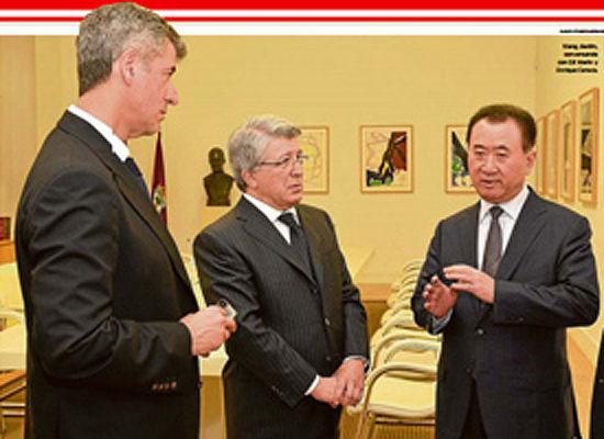 小希尔、塞雷佐和王健林有望组成马竞领导层的新三驾马车