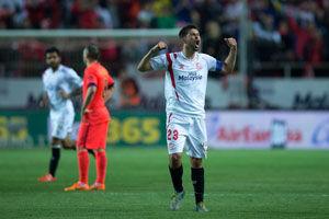 西甲-梅西内马尔进球巴萨2-0变2-2仍领先2分