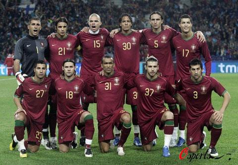 图文-2008年欧锦赛16强预计首发C罗领军葡萄牙队