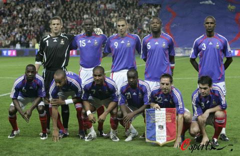 图文-2008年欧锦赛16强预计首发法国军团雄心勃勃