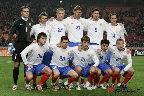 图文-2008年欧锦赛16强预计首发俄罗斯队意外晋级