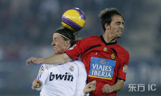 图文-[国王杯]马洛卡VS皇家马德里双方脖子都歪了