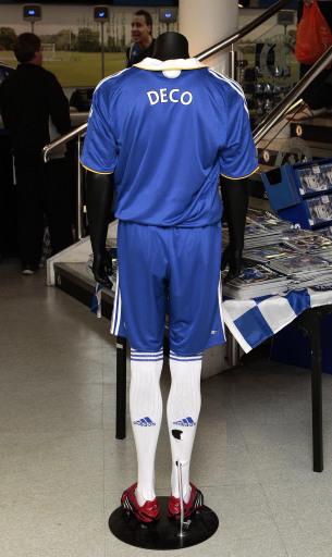图文-切尔西球员德科球衣上架球衣号码多少?