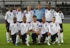 图文-欧洲U19足球锦标赛赛况英格兰十一虎将全家福
