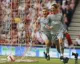图文-[英超]桑德兰0-1利物浦托雷斯庆祝进球