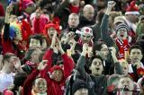 图文-[世俱杯]曼联VS基多体育大学红魔球迷遍天下