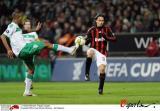 图文-[联盟杯]不来梅vsAC米兰因扎吉和纳尔多对脚