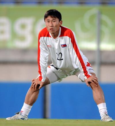 资料图文-朝鲜国家队队员前锋金锦一