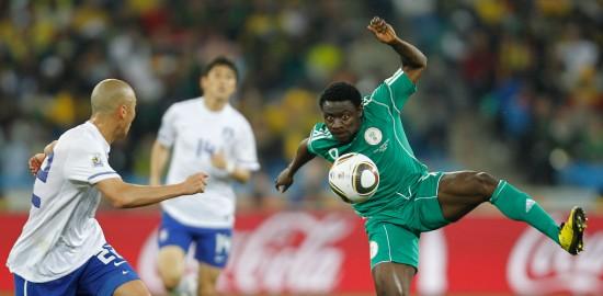 图文-[小组赛]尼日利亚2-2韩国 马丁斯手舞足蹈