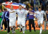 斯洛伐克队庆祝