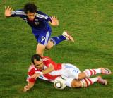 图文-[1/8决赛]巴拉圭VS日本