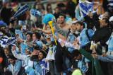 乌拉圭队球迷庆祝