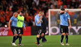 乌拉圭队员退场