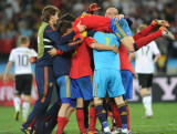 西班牙庆祝胜利