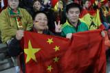 中国球迷等待比赛
