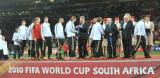 德国队员在颁奖仪式