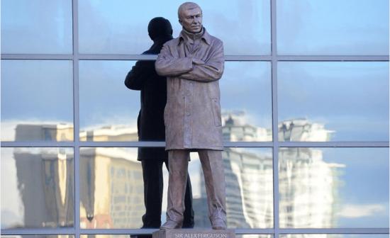 弗格森铜像揭幕