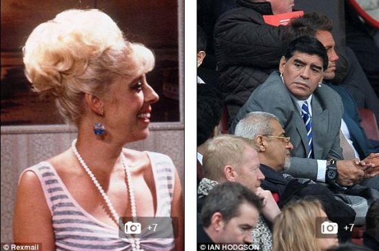 球王耳环似英女星