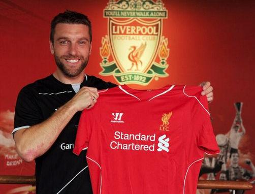 利物浦官方宣布签下兰伯特