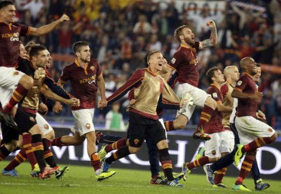2比0击败那不勒斯队,8连胜的罗马下个目标就是追平尤文所保持的意甲开局连胜纪录(9连胜)