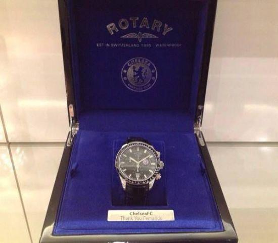 阿布送给托雷斯的手表价值3万英镑