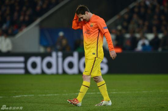 梅西无缘下一场战巴黎比赛