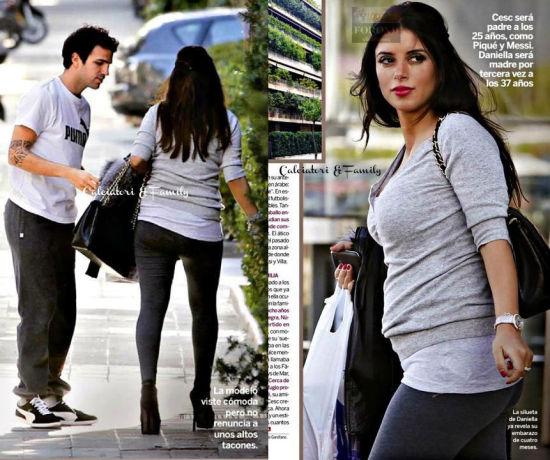 去年11月小法和怀孕的女友达尼埃拉被媒体拍到