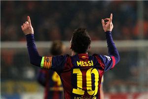 欧冠-梅西3球破纪录苏神进球巴萨4-0巴黎3-1