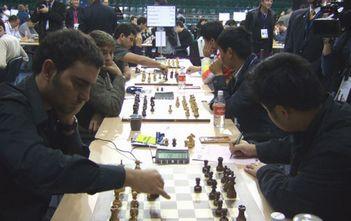 奥赛第9轮王皓拿下关键一分中国男队小胜古巴