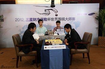 三星杯首轮中国外战11胜4负古力胜张栩将战李世石