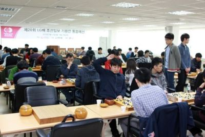 LG杯预选次轮演进图 中国46人进8强