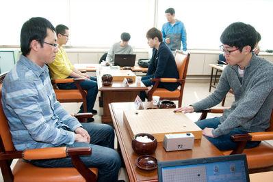 LG杯预选决赛时越擒安国铉 中韩出线人数7比5