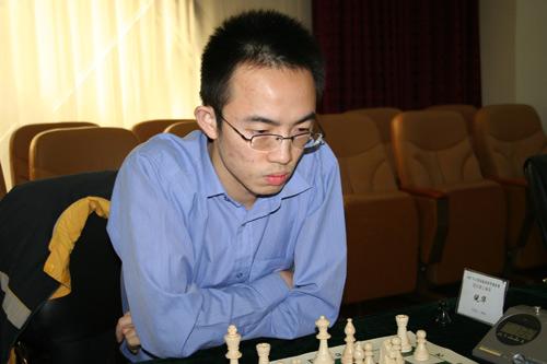 图文-2007国象联赛最终轮倪华本赛季发挥不错