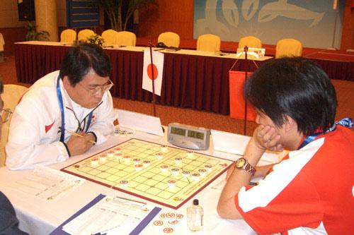 图文-亚室赛象棋男团赛花絮 日本所司和晴pk王