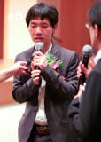 李昌镐接受采访
