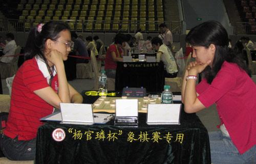 图文-杨官�U杯第3轮现场聚焦唐丹迎战金海英