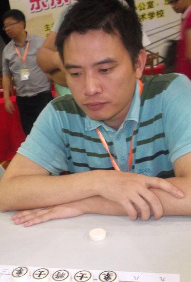 象棋大师陈富杰