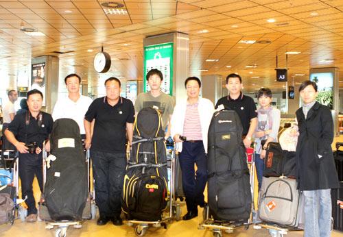 奥迪quattro杯世界总决赛4名中国球手抵达西班牙