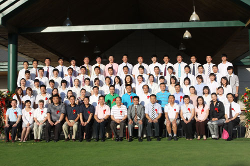 北京体育大学高尔夫专项班第5届毕业典礼举行