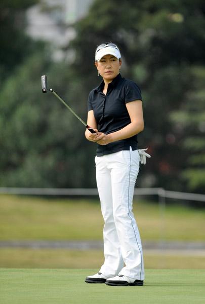 叶莉英太湖为大赛热身下周征战LPGA美津浓公开赛