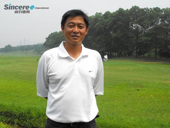 仙村国际高尔夫球场享受没有球车的那份惬意