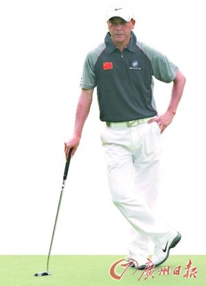 张连伟教你如何打高尔夫球学球要趁早易学难精