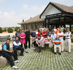 中国高尔夫媒体联盟周年庆典在海阳旭宝举行