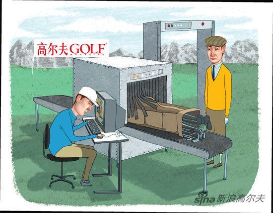 高尔夫规则问题