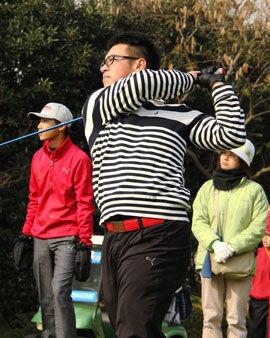 2014高尔夫上青赛收官周赐麟等小将齐集夺锦标