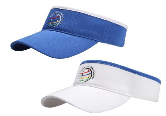 世界锦标赛 专属款无顶帽 清凉夏日必备之选