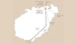 海口观澜湖国际度假区位置图示