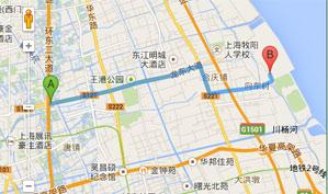 上海林克司高尔夫乡村俱乐部位置图示