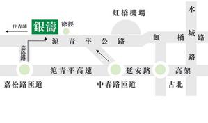 上海银涛高尔夫俱乐部位置图示